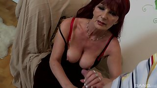 Video of mature redhead giving head with an increment of getting fucked exotic behind