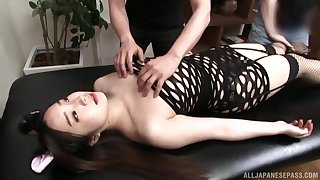Hot Japan mature in preposterous oral game and freakish fetish