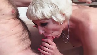 Hot Granny Takes Anal